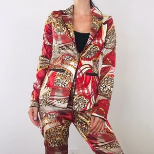NWT Silky Pant Suit Set